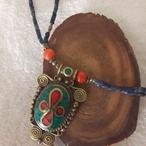 handcraft Jewelry - Balinese pendant necklace